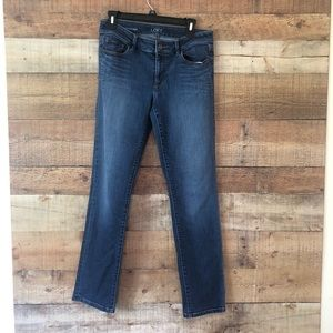 Ann Taylor Loft Curvy Straight Jean